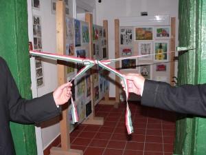 A kiállítás megnyitóján