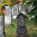 Régi sváb sírkő az Öregtemetőben