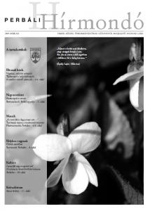 2009. március címlap
