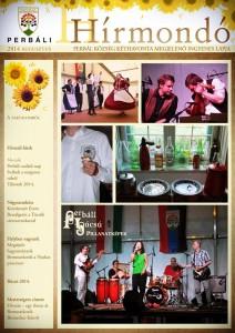2014. augusztus címlap