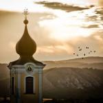 Szt. Anna templom ősszel