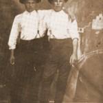 Walter Antal és Steiner János legényként