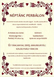 Néptánc Perbálon_2015. január_szilágysági