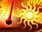 hőségriadó kép